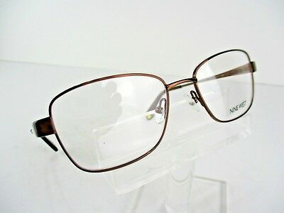 NEW Nine West NW 1068 (210) Brown 51 x 17 135 mm Eyeglass Frames
