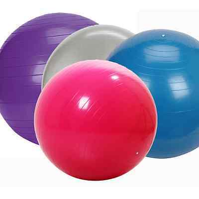 The Miracle Box Birth / Exercise Ball Blue or Silver 65cm