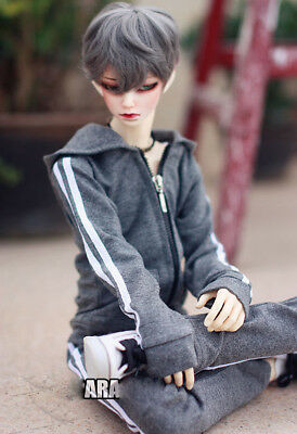"""BJD Red Sports Coat Outfits Top Pants For 1//4 17/""""  44cm doll AOD MSD DOD DK DZ"""