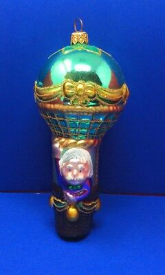 Polonaise Ornament PROFESSOR MARVEL Wizard of Oz Glass Komozja Kurt Adler