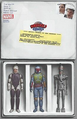 Star Wars 46 Wonderworld Boba Fett Mail Order Action Figure Variant Pre-Sale 4/4