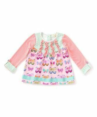 NWT NEW MATILDA JANE sz 12-18 M PLAYTIME IN THE SUN BUTTERFLIES TOP