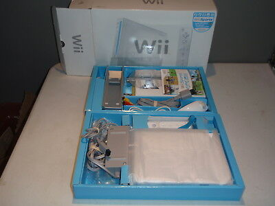 Nintendo Wii Sports Edition White Console Complete Boxed System
