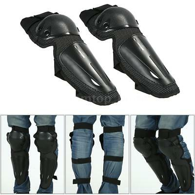 Motorcycle Motocross Cycling Racing Knee Pads Protector Guards Armor Gear U9Z2
