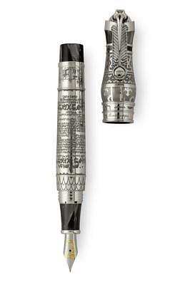 Montegrappa Thoth Sterling Silver Fountain Pen