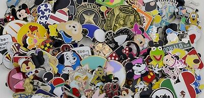 Disney Trading Pin 50 lot no Doubles 100% Tradable Free Shipping + Special Pin