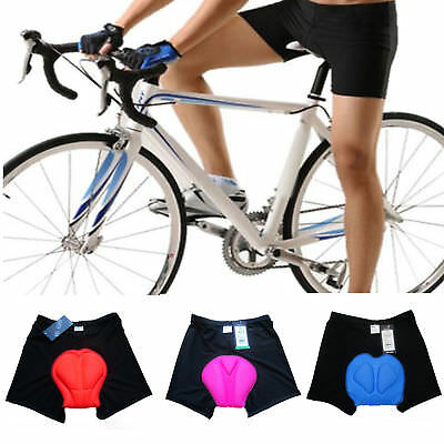 Women Men Cycling Bike Bicycle Sports Shorts Underwear 3D Gel Padded Pant Unisex