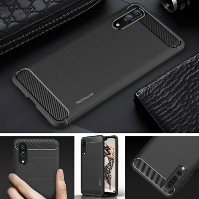 Premium Slim ShockProof Carbon Protective Case for Huawei P20, P20 Lite, P20 Pro