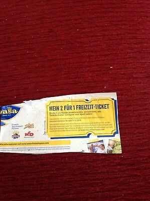 2 Für 1 Freizeit Ticket 150 Verschiedene Movie Park Bottrop Tropical Island Kd