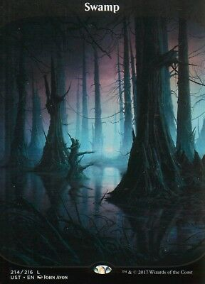 Swamp (Full Art) | NM/M | Unstable | Magic MTG