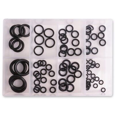 85Pc SPARE O RING SET Watertight Tap Washer Seal Plumbing Mixed Size Rubber Case