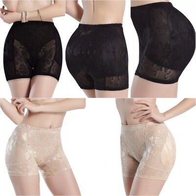dcfa73aa493 Women Padded Bum Butt Hip Booster Enhancing Panties Knickers Shapewear  Underwear