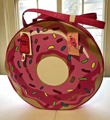 New Betsey Johnson 20 Quot Quot Sprinkles Quot Carry On Roller Spinner