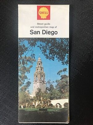 1966 San Diego street guide and metropolitan map.