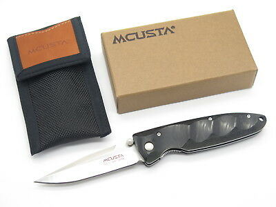 Mcusta Seki Japan Basic Mc-0022 Micarta & Vg-10 Linerlock Folding Pocket Knife