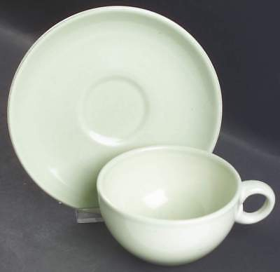 Iroquois Russel Wright CASUAL LETTUCE GREEN Cup & Saucer 6302216