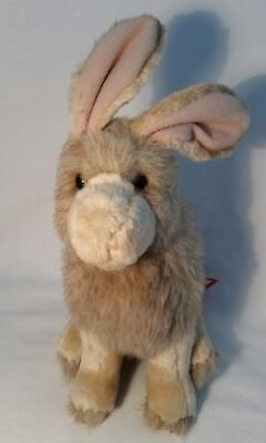 Douglas the Cuddle Toy Plush Realistic Looking Beige Easter Bunny, 7""