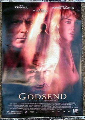 Original Godsend Ds One Sheet Movie Poster 2003 Robert De Niro Greg Kinnear Evil