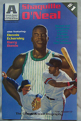 Shaquille Oneal Barry Bonds Dennis Eckersley Athletic Comic Book