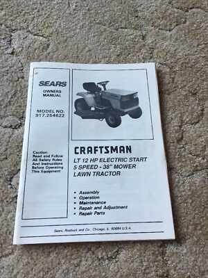 craftsman 650 lawn mower how to start