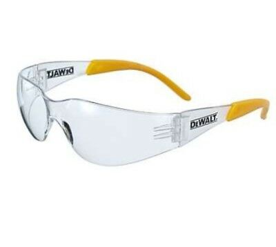 4 X Dewalt Protector™ Clear Lens Impact Scratch Resistant Safety Glasses