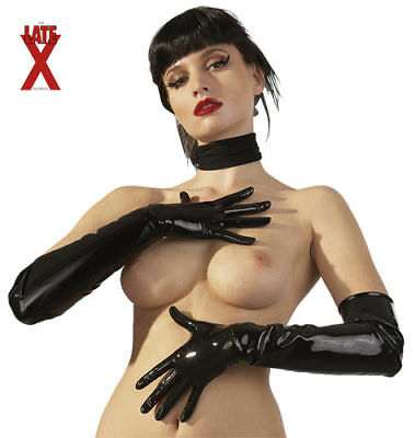 "Guanti In Latex Neri ""gloves"" S"