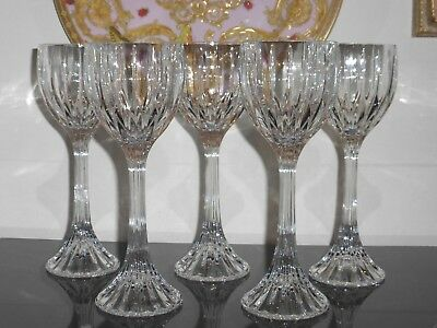 Mikasa Crystal Park Lane Wine Hock Glasses Set of 5