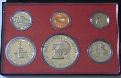 1976 UNITED STATES PROOF SET of Coins in Blue Wallet
