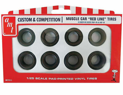 AMT [AMT] 1:25 Red Line Tires Parts Pack AMTPP013