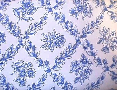 "LONGABERGER COTTAGE TRELLIS FABRIC -NEW- 36"" x 54"" ONE YARD-SHOP STORE FOR MORE"