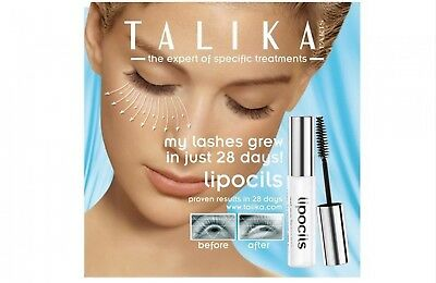 Talika Lipocils Lash Conditioning Gel Eyelashes Growth Mascara Eye Makeup Kit