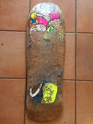 BLIND JASON LEE Vintage 80s Skateboard CAT IN THE HAT 90s RARE GONZ