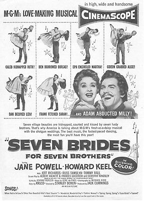 Seven Brides For Seven Brothers  Movie Poster 8X10 Reproduction Photo