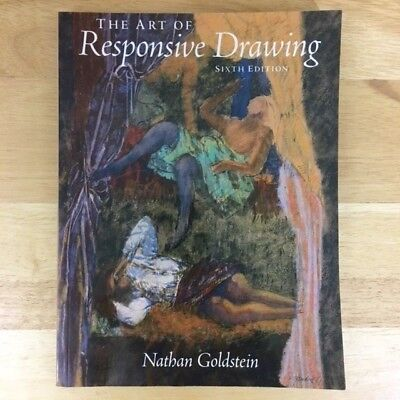 The art of responsive drawing sixth edition by goldstein nathan new condition