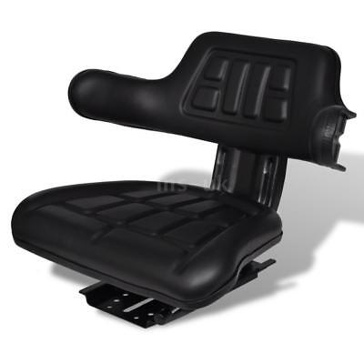 Tractor Seat with Spring Armrest Backrest Tracks and Suspension Comfortable X4Z4
