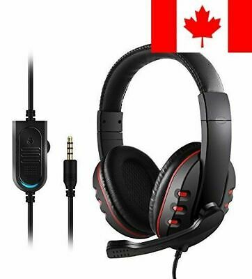 Gaming Headset for PS4 Xbox One - Etpark 3.5mm Wired Over-head Stereo Gaming ...