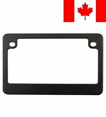 Custom Frames 92774 Matte Black Dealer Frame Motorcycle License Plate Frame