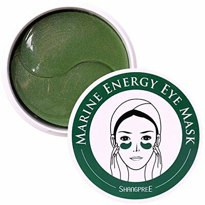 Shangpree Marine Energy Moisture Anti-Wrinkle Under Eye Zone Patch Mask Pads Gel