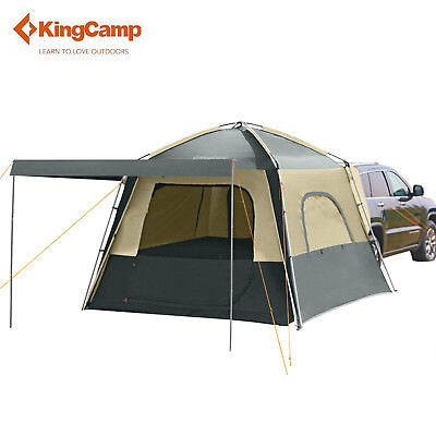 KingCamp 5 Person Camping Tent  Vehicle SUV Car Waterproof Large Tent Outdoor