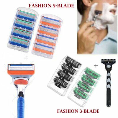 3/5Blades For Gillette Fusion Razor Shaving Shaver Trimmer Refills Cartridges GE