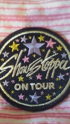 """ShowStopper Dance Patch """"On Tour"""" New"""