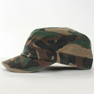 Camouflage Golf Baseball Cap Casual Fashion Look Military Trucker Hat Sun Visor