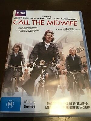 CALL THE WIDWIFE BBC Series 1 Jessica Raine 2 DVDs R4 Excellent Condition