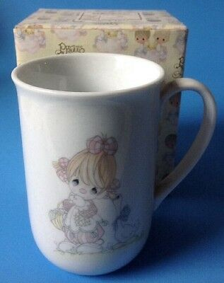 New Enesco Precious Moments Girl Clown with Goose Mug Special Day Share w Friend