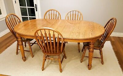Prime Richardson Brothers Solid Oak Dining Table And Set Of 4 Creativecarmelina Interior Chair Design Creativecarmelinacom