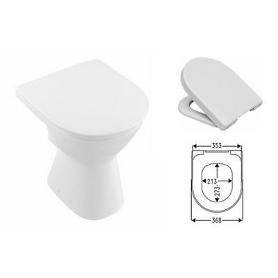 villeroy boch o novo stand wc sitzerh hung 10 cm wc sitz softclosing wei eur 278 00. Black Bedroom Furniture Sets. Home Design Ideas