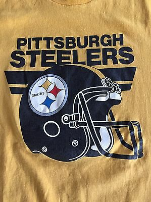 VTG Vintage 80s Pittsburgh Steelers Soft Shirt - Trench