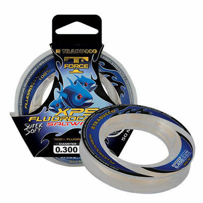 Monofilament Fluorocarbon Xps Saltwater 0,185 Mm Trabucco T Force