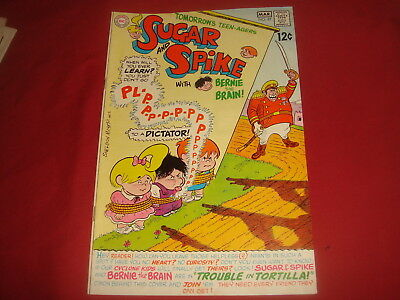 SUGAR AND SPIKE #81 Sheldon Mayer DC Comics 1969  VF