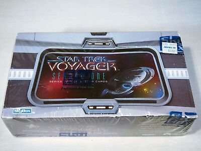 SkyBox factory sealed Star Trek: Voyager Season One Series Two Trading Cards